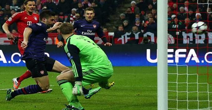 Champions: l'Arsenal spaventa il Bayern. I gunners vincono 2-0 all'Allianz Arena, ma ai quarti vanno i tedeschi