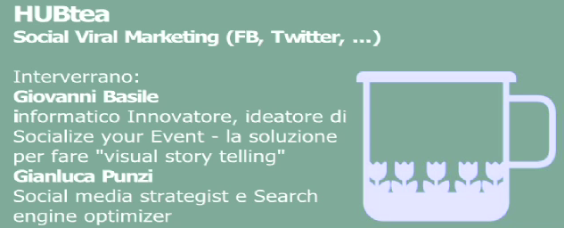 HUBtea2. Social Viral Marketing (FB, Twitter, ...)