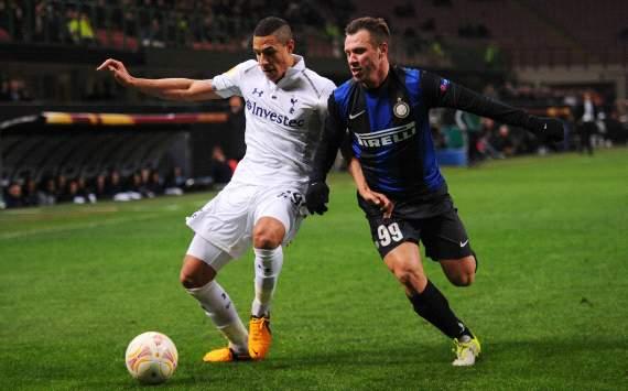 Inter-Tottenham 4-1: i nerazzurri sfiorano l'impresa. Cassano super