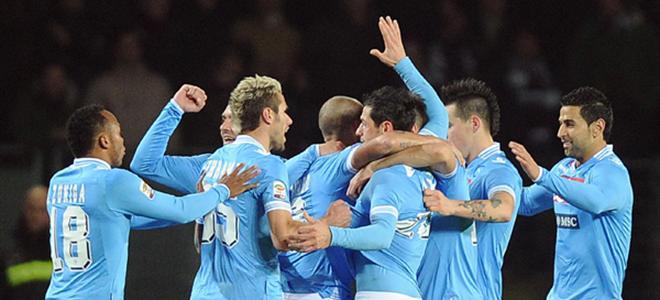 Torino-Napoli: Dzemaili e Cavani matano i granata. All'Olimpico finisce 3-5