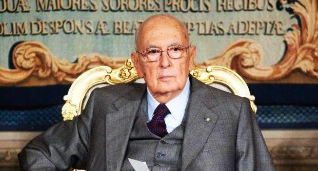 Giorgio Napolitano a Napoli inaugura la nuova sede del Tigem