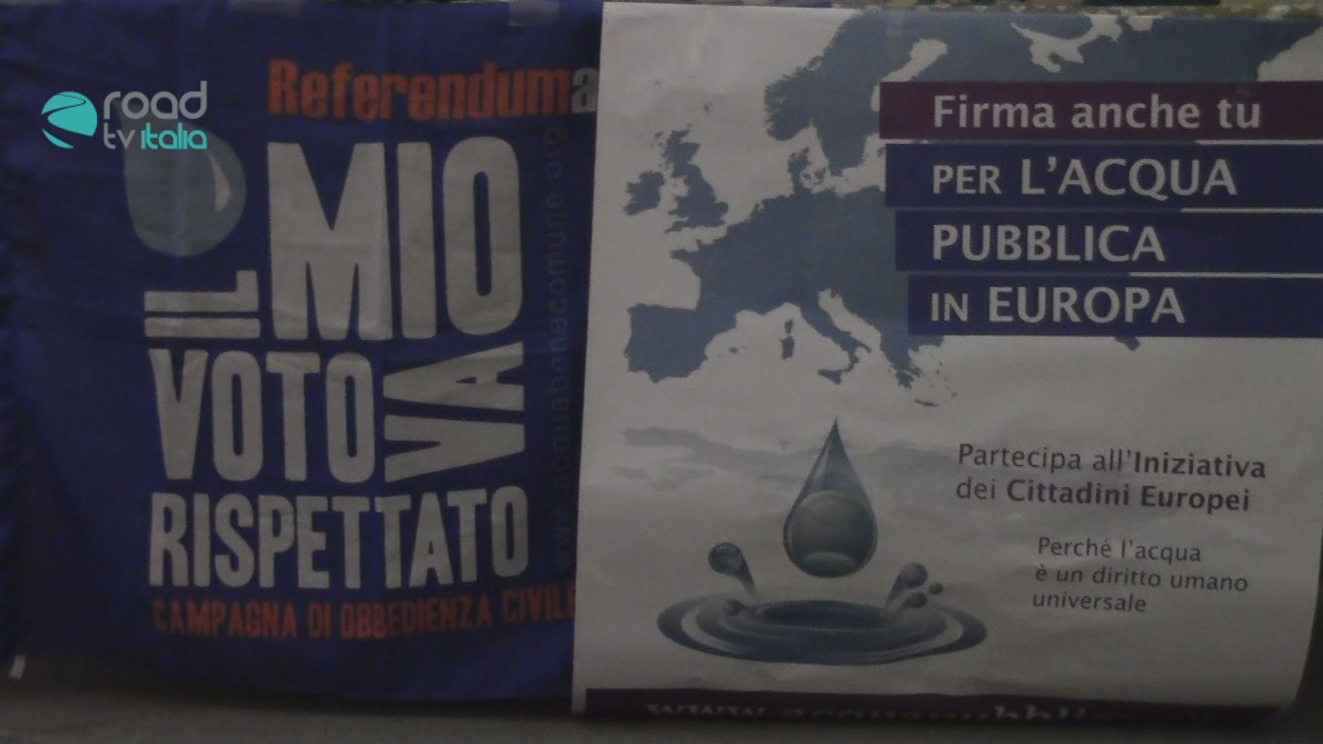Acqua pubblica: De Magistris, padre Zanotelli e Ugo Mattei insieme per tutelare l'Acqua Bene Comune