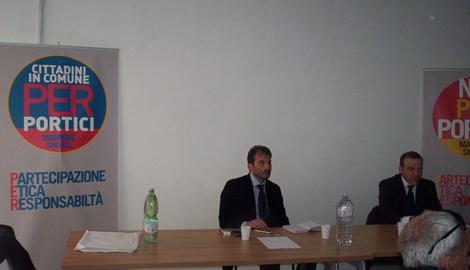 Elezioni comunali Portici 2013, anche l'Idv appoggia Nicola Marrone