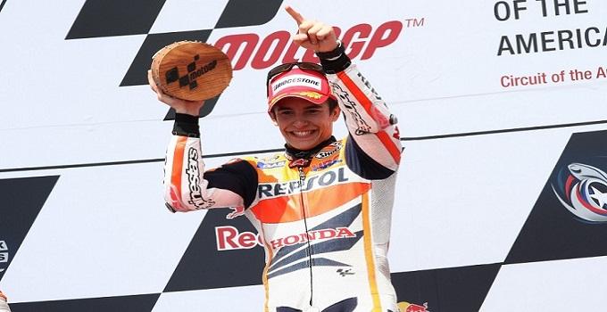 MotoGp, ad Austin trionfa Marquez: è il più giovane vincitore di sempre nella classe regina