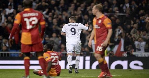 Real Madrid-Galatasaray 3-0: tutto troppo facile per i blancos