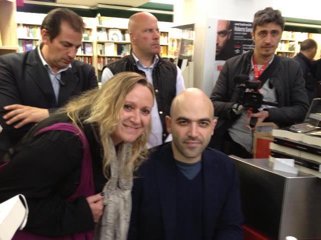 Roberto Saviano a Napoli