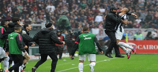 Alla Juve il derby di Torino: 0-2 ed è ormai scudetto.