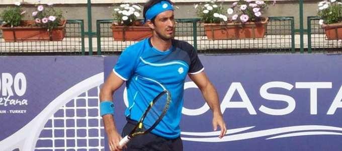 Tennis Napoli Cup: Starace è il secondo finalista. Al tappeto il francese Guez