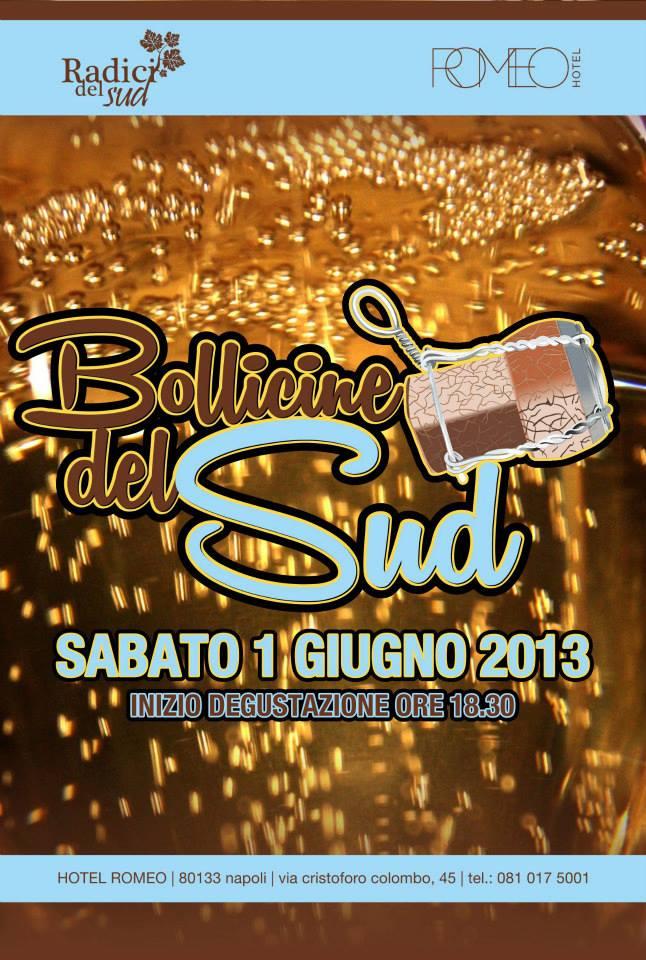 Bollicine del Sud: appuntamento a Napoli, Hotel Romeo