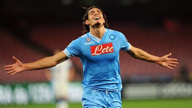 Calcio Napoli Psg Cavani