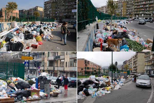 L'immondizia torna ad invadere Pianura. Recintate le zone invase dai rifiuti (VIDEO)