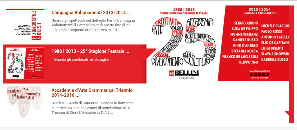 La venticinquesima ora del teatro Bellini di Napoli (VIDEO)