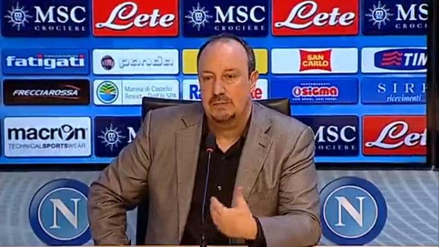 Napoli, Benitez presentato a Castelvolturno
