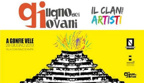 Il 28 giugno Evento del Clan degli Artisti a Scampia (VIDEO)