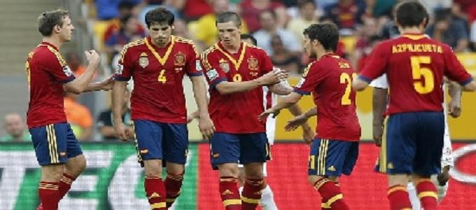 Spagna in doppia cifra: le Furie Rosse rifilano 10 gol a Tahiti