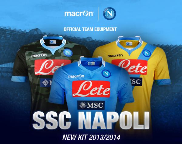 Napoli 2013/2014 - Presentazione nuove maglie e nuovi acquisti