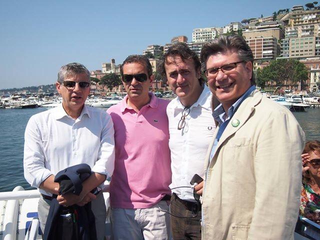 Bateau Mouche a Napoli, grande successo