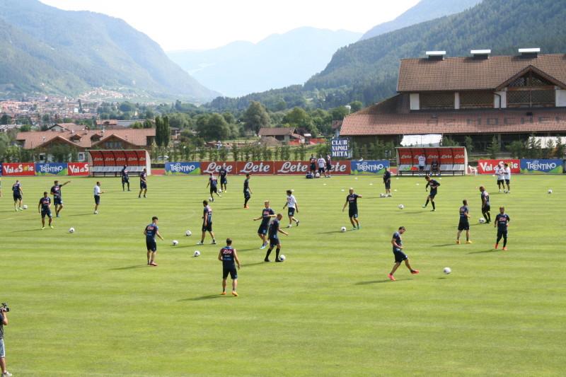Dimaro 2013: Mattinata di allenamento per il Napoli