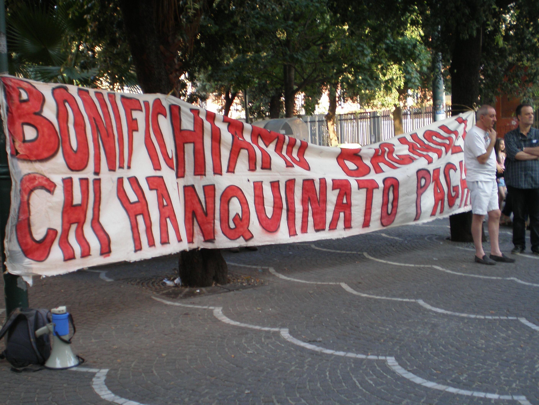 Un Piano del Lavoro per ricostruire Napoli e la Campania