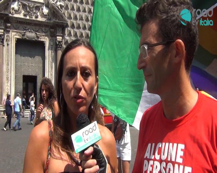 Legge anti-omofobia, ancora un rinvio. Presidio Arcigay a piazza del Gesù (VIDEO)