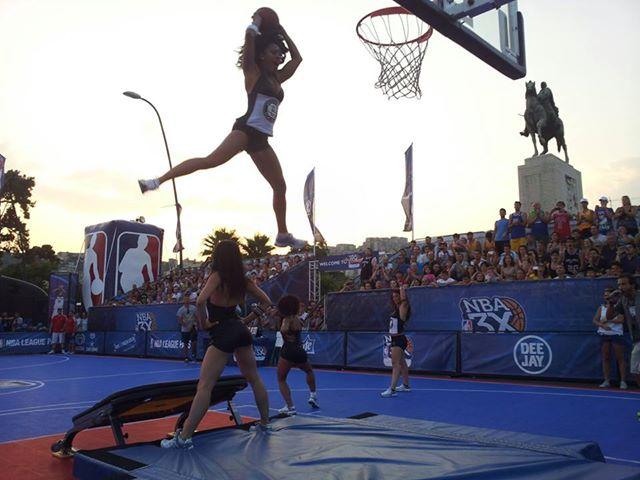 """NBA3X, lo show e l'intervista alle Broklynette. """"Ciao Roadtvitalia"""" (VIDEO)"""