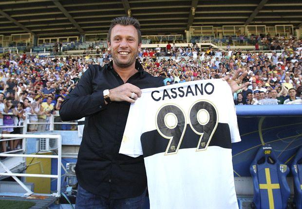 Colpo del Parma, preso Cassano dall'Inter