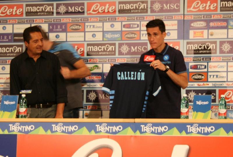 E' il giorno di Callejon: lo spagnolo si presenta in conferenza stampa