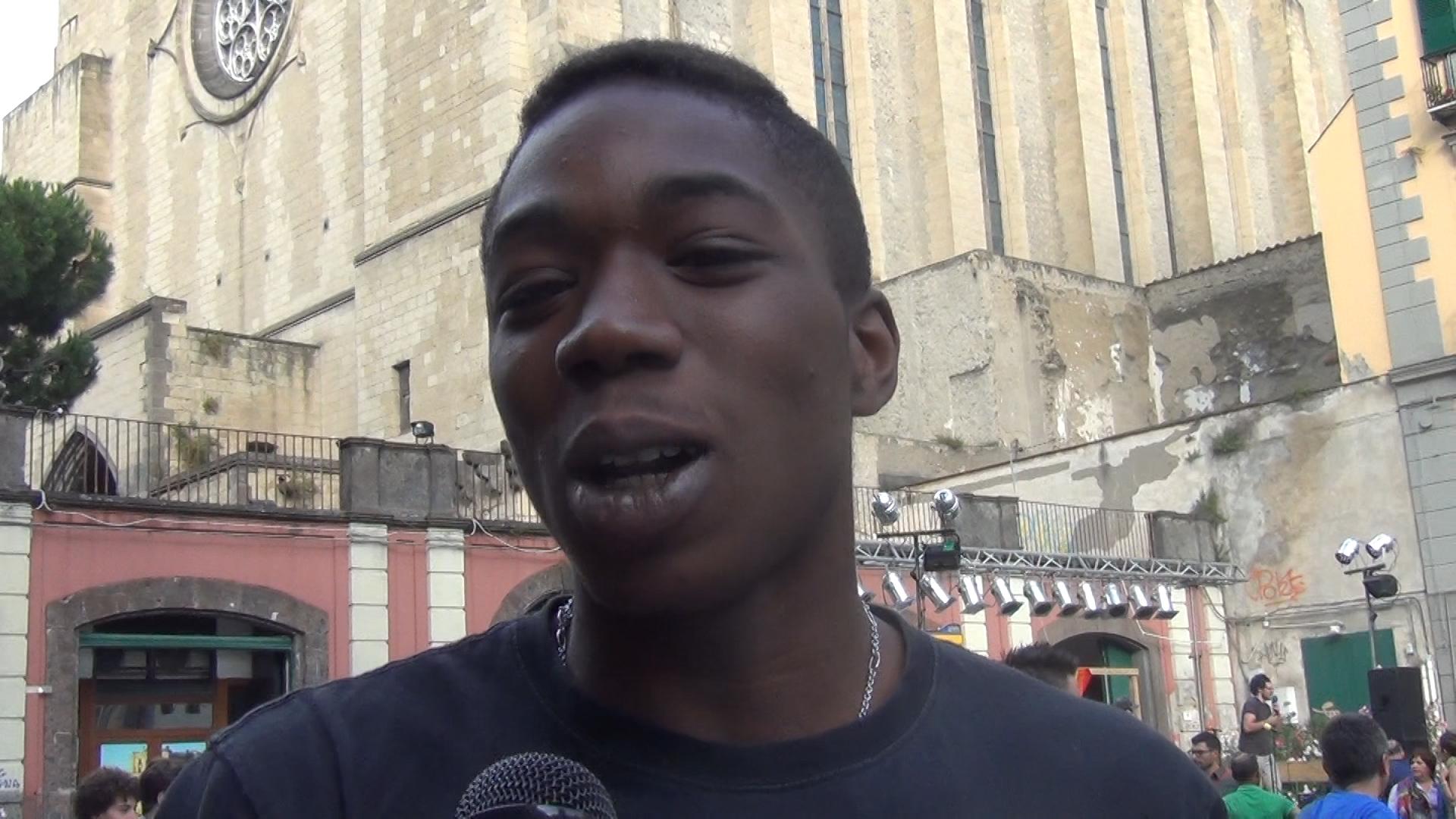 Straniero a chi? La parola agli immigrati durante la manifestazione napoletana a favore dello ius soli (VIDEO)