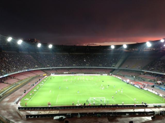 Una serata di festa e di sport allo stadio San Paolo