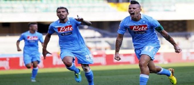 Napoli implacabile col Chievo