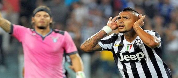 Juventus-Lazio 4-1: Vidal, Vucinic e Tevez disintegrano la Lazio