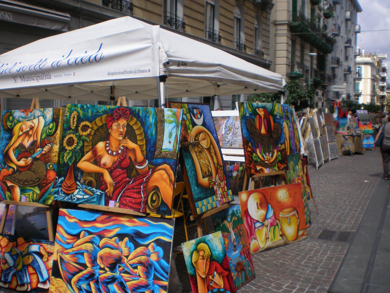 """Artisti sotto il cielo"" a via Merliani"