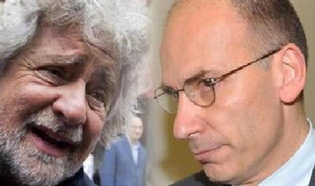 Polemica tra Letta e Grillo sulla legge elettorale