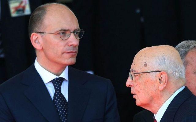 Quirinale: atteso incontro tra il premier Letta e il presidente Napolitano