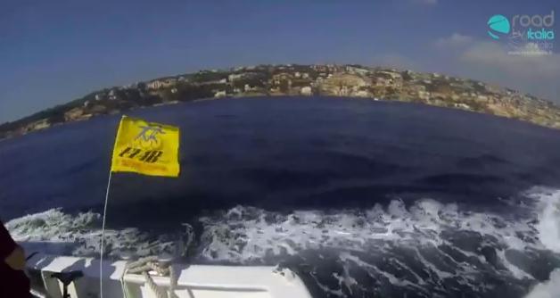 Bateau Mouche a Napoli, ecco il percorso (GoPro VIDEO)