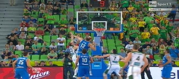 Europei di basket 2013: l'Italia è fuori, battuta dalla Lituania. Risultato finale 77-81