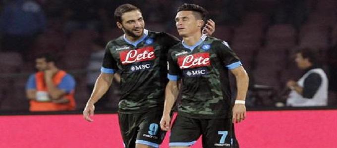 Napoli-Atalanta 2-0: Napoli primo in classifica