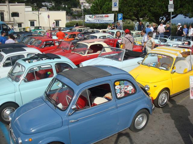 Capri: il 21 settembre, il raduno annuale delle 500