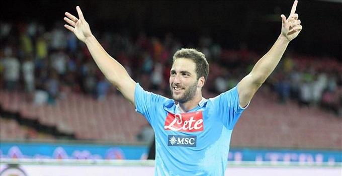 """Calcio Napoli, Higuain: """"dopo il Borussia ora dobbiamo battere il Milan. Anche senza Kakà loro sono molto forti"""""""