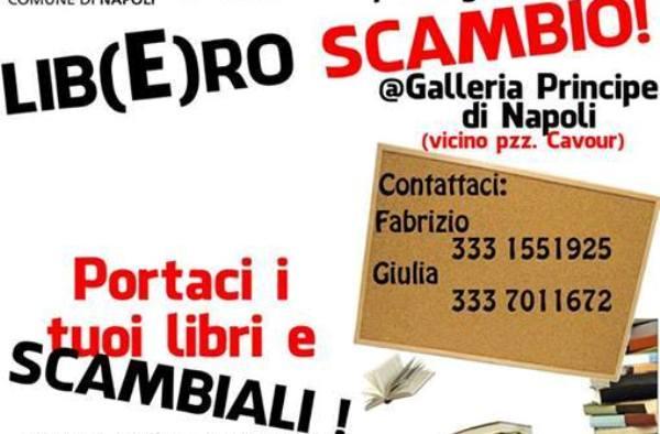 Lib(e)ro scambio: l'iniziativa del comune di Napoli per gli studenti
