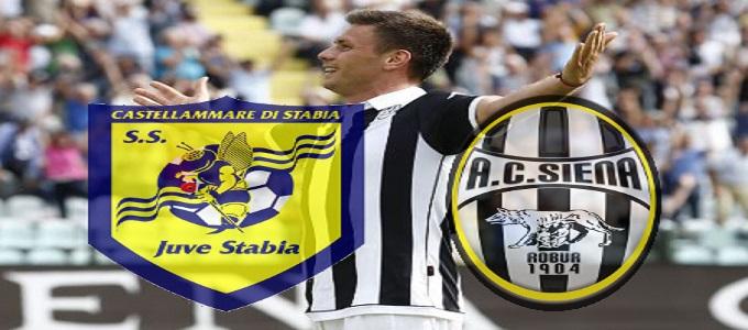 Serie B: Juve Stabia-Siena 2-2