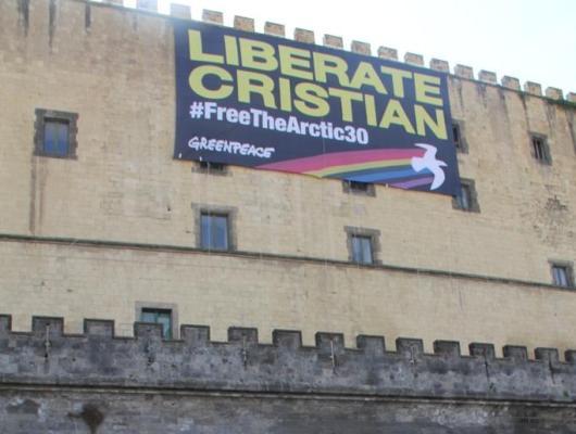 Cristian D'Alessandro, l'attivista napoletano libero su cauzione