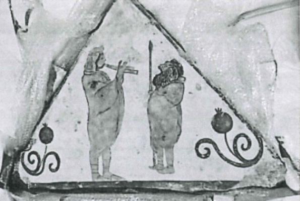 Ritrovato affresco antico in America. Era sparito da Paestum negli anni settanta