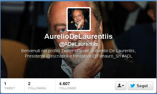 Napoli, Reja nuovo Direttore Tecnico: De Laurentiis smentisce tutto su twitter