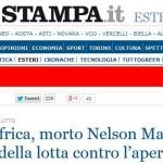 Le gaffe della stampa e dei vip sulla morte di Mandela (FOTO)