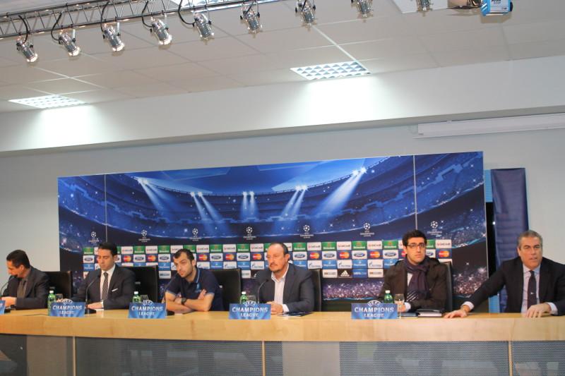 Champions, Napoli-Arsenal: conferenze stampa Pandev e Benitez