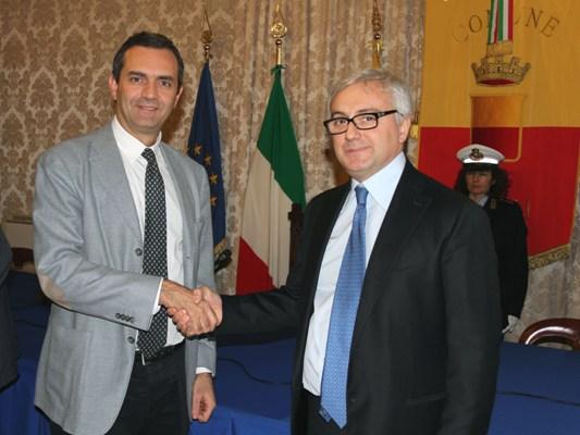 """Luigi Acanfora, nuovo comandante della polizia municipale: """"la mia priorità è meritare la vostra stima"""""""