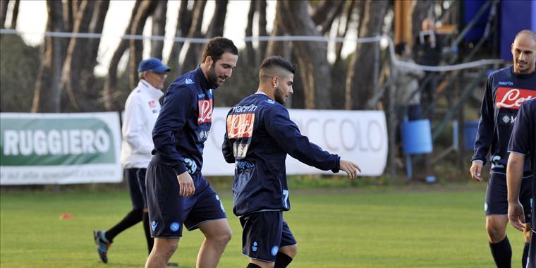 Napoli-Inter: allenamento mattutino per gli azzurri. Lunga seduta tattica