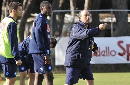 Napoli-Udinese: seduta mattutina per gli azzurri. Differenziato per Reina e Behrami