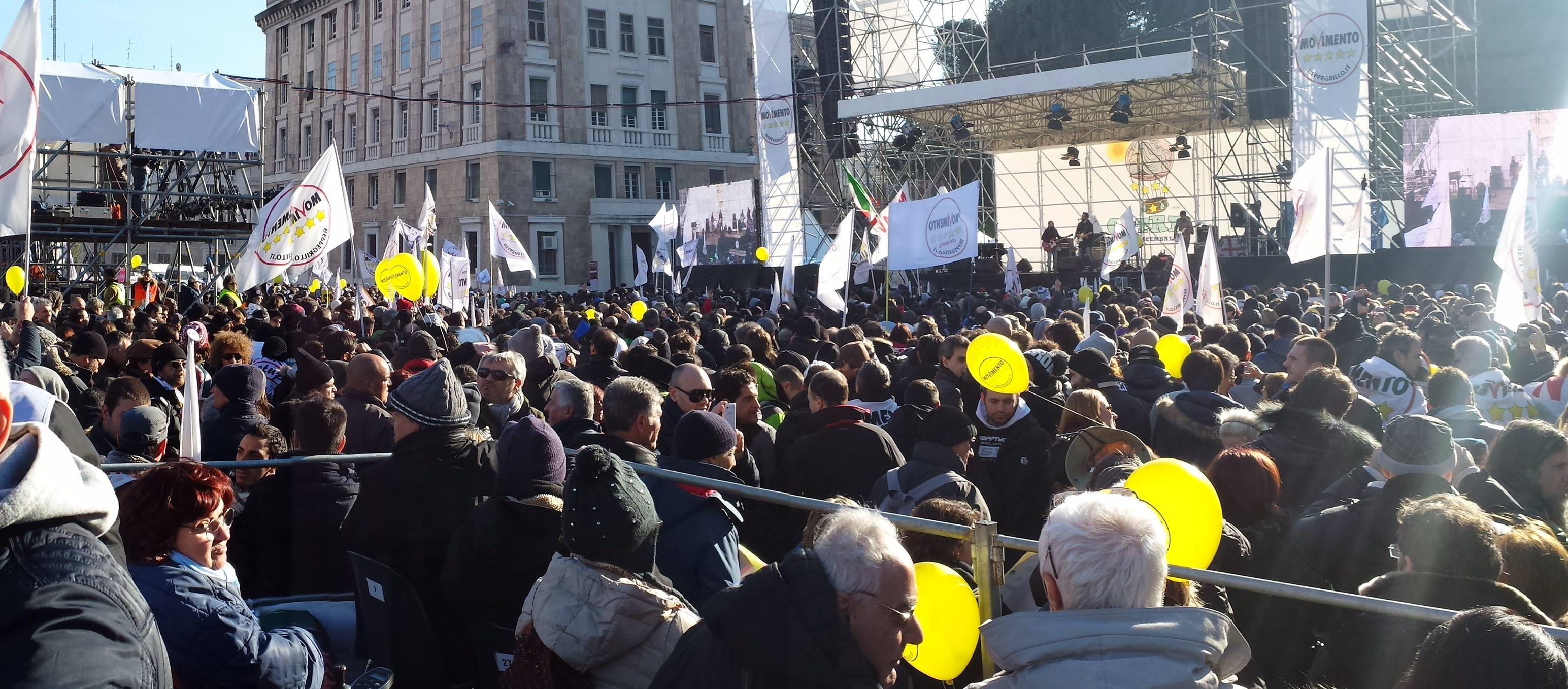 V-Day Genova: Grillo di Lotta e di Governo... europeo (VIDEO)